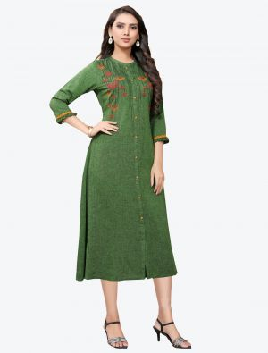 /pr-fashion/202011/green-linen-long-kurti-fabku20128.jpg