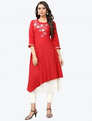 /pr-fashion/202011/red-linen-long-kurti-fabku20120.jpg