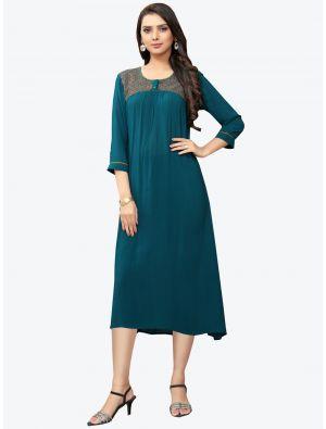 /pr-fashion/202011/teal-blue-georgette-long-kurti-fabku20119.jpg