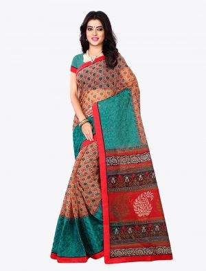 Multicolor Kota Silk Designer Saree small FABSA20618