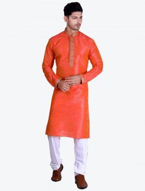 /theethnicworld/202102/orange-pure-art-silk-kurta-with-pajama-fabme20078.jpg
