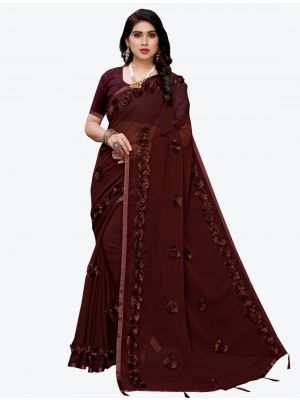 /jk-fashion/202102/dark-brown-georgette-designer-saree-fabsa20938.jpg