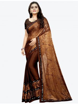 /jk-fashion/202102/dark-brown-lycra-designer-saree-fabsa20948.jpg