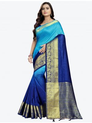 /riva-enterprise/202101/blue-cotton-silk-designer-saree-fabsa20798.jpg