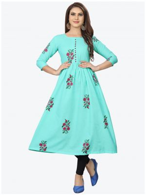 /theethnicworld/202101/sky-blue-cambric-cotton-kurti-fabku20167.jpg
