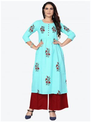 /theethnicworld/202101/sky-blue-cambric-cotton-kurti-fabku20169.jpg
