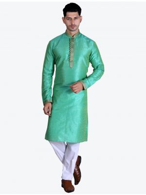 /theethnicworld/202102/green-pure-art-silk-kurta-with-pajama-fabme20082.jpg