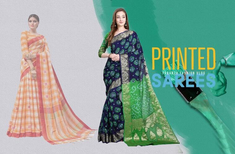 Print Sarees Collection