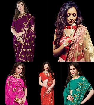 Shield Your Saree from Falling
